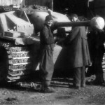 StuG 40 with Saukopfblende 1944 45 Slovakia