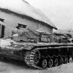 StuG 40 with Winterketten