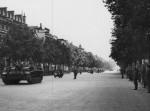Sturmgeschutz III Ausf F assault gun in parade