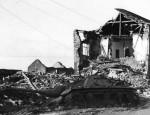 Wreckage of German StuG 40 ausf G in Noville 1944 2