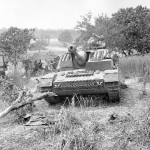 Abandoned German assault gun StuG IV with zimmerit – Italy May 1944