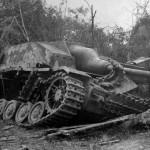 German assault gun StuG IV Marigny Montrevil France October 1944