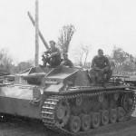 German Sturmgeschutz III of Waffen SS