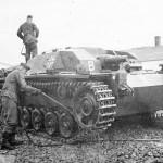 German assault gun StuG III Ausf B