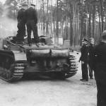 Prototype StuG III on Panzer III B chassis