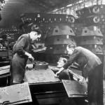 StuG III assembly line