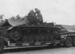 StuG III Ausf A on Sonderanhanger 116