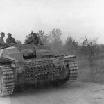 StuG III on road