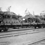 StuG III during rail transport