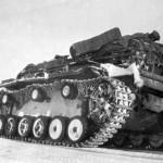StuG III rear view