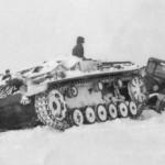 German StuG III winter