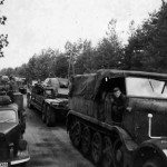 StuG III on trailer transport