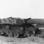 Destroyed early StuG III