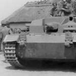German Sturmgeschutz III during the Operation Barbarossa