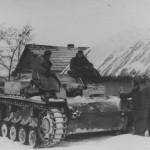 Sturmgeschutz III in winter