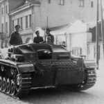 Sturmgeschutz StuG III in Sieradz Poland