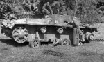 knocked out early StuG III Ausf B