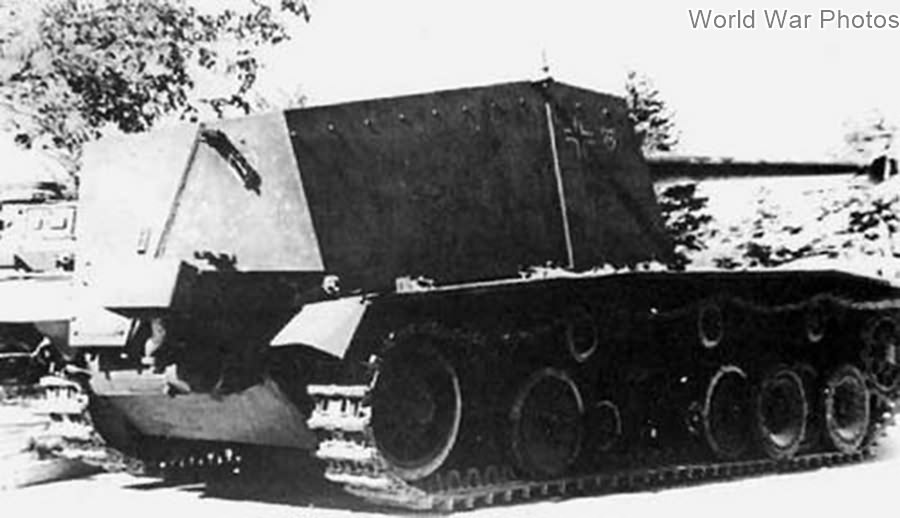 Captured Sturer Emil, 1943