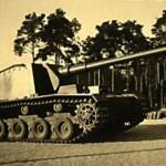 German self-propelled anti-tank gun Sturer Emil 1942