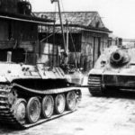 Sturmtiger and Bergepanther 1945