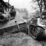 Sturmtiger and British M32B2 Oberembt Germany 1945