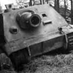 Captured Sturmtiger 250327 at Oberembt Germany 1945