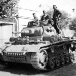 Tauchpanzer III on city street
