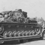 Tauchpanzer IV on trailer 123