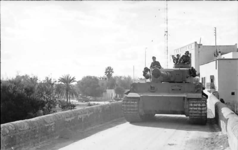 Afrika Korps Tiger Number 112 Of Schwere Panzer Abteilung