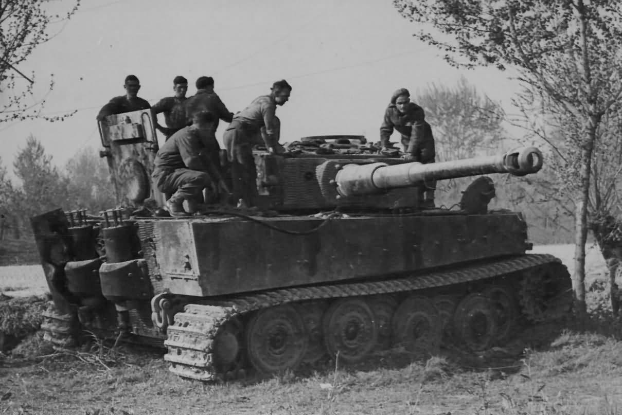 panzer vi tiger 332 of schwere panzer abteilung 504 massa. Black Bedroom Furniture Sets. Home Design Ideas