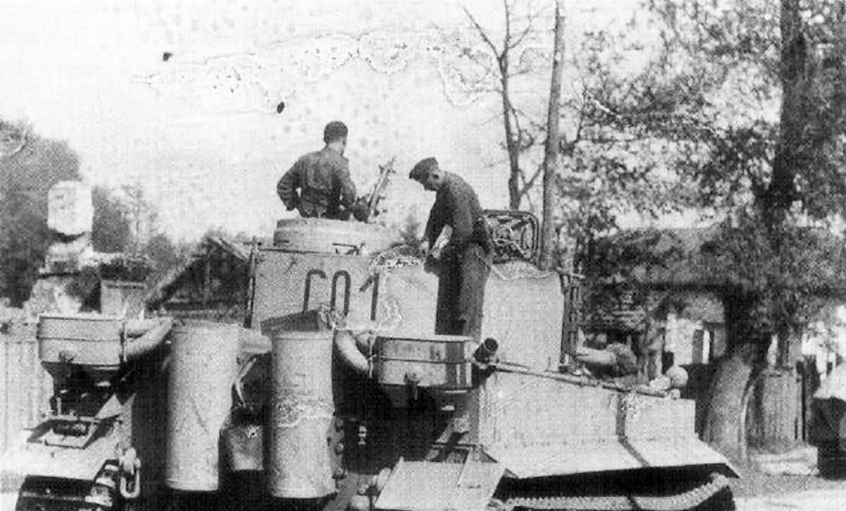 Tiger Code C01 Of Iii Panzer Regiment Grossdeutschland