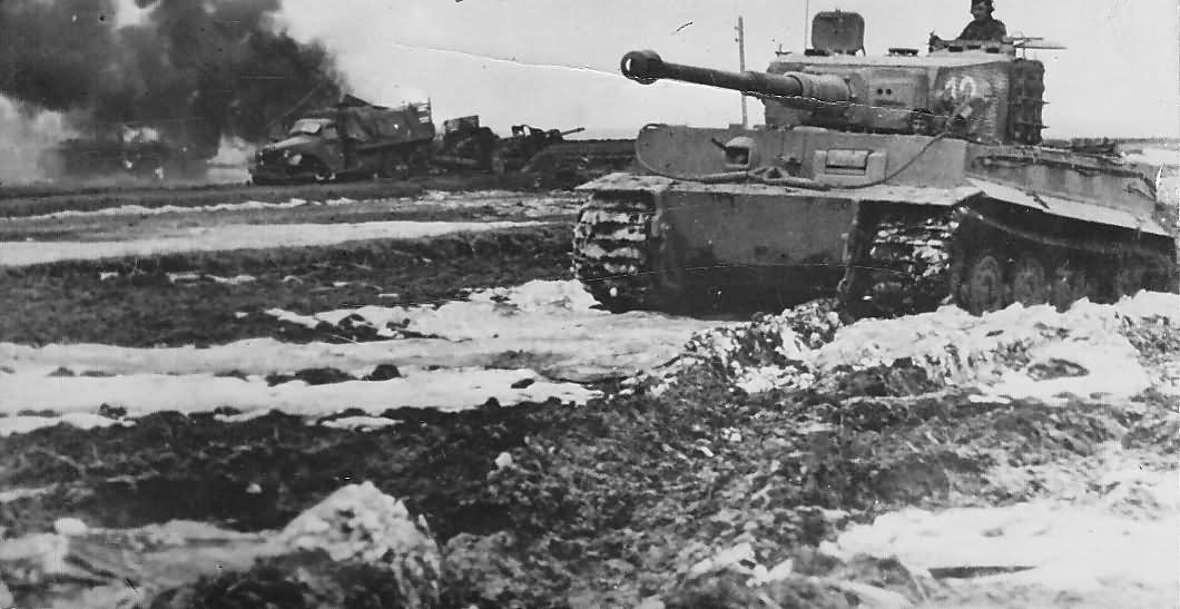 Panzer Vi Quot Tiger Quot With Zimmerit Number 12 Of The 506