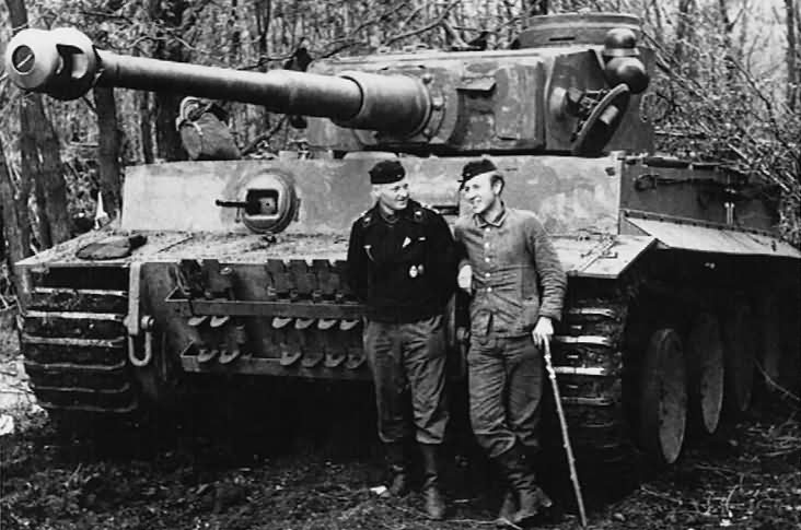Tiger tank 333 of schwere panzer abteilung 503