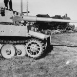 Early Tiger with transport tracks 1943
