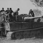 Panzer VI Tiger 332 of schwere Panzer Abteilung 504 Massa Lombarda Italy 1945
