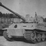 Panzer VI Tiger of schwere Panzer Abteilung 506 tank with transport tracks