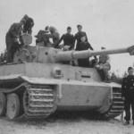 Panzer VI Tiger of schwere Panzer Abteilung 507 and crew