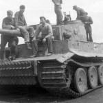 Panzer VI Tiger 921 of 3rd SS Panzergrenadier Division Totenkopf