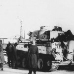 "Panzer VI Tiger 822 of SS-Panzer Grenadier-Division ""Das Reich"" winter camo"