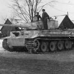 Panzerkampfwagen VI Tiger with winter camo 1944