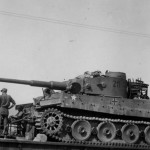 Tiger of schwere Panzer Abteilung 504, tank number 211 Palermo Italy