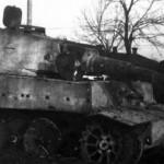 Tiger number 323 Kampfgruppe Bake on Eastern Front