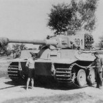 Tiger of the Grossdeutchland Division code C31