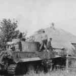 Tiger tank schwere panzer abteilung 503 334 rear view