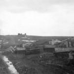 Tiger tanks Kampfgruppe Bake on Eastern Front