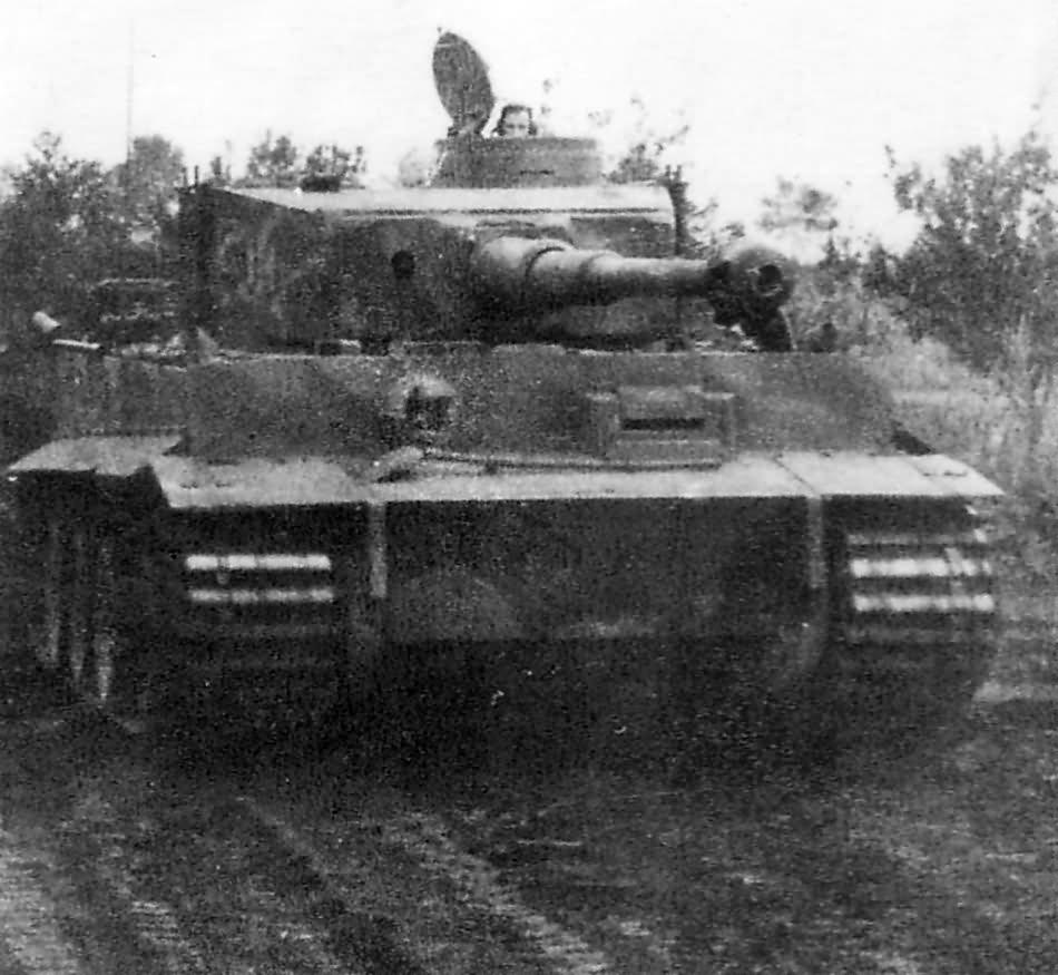 Early Tiger I tank code C01 of the III/Panzer Regiment Grossdeutschland
