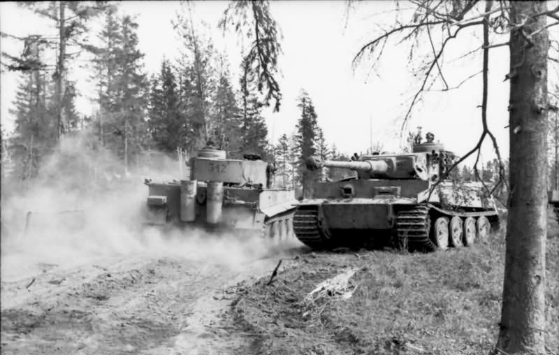 Panzerkampfwagen VI Tiger Ausf. H of the Schwere Panzer-Abteilung 502, tank number 312