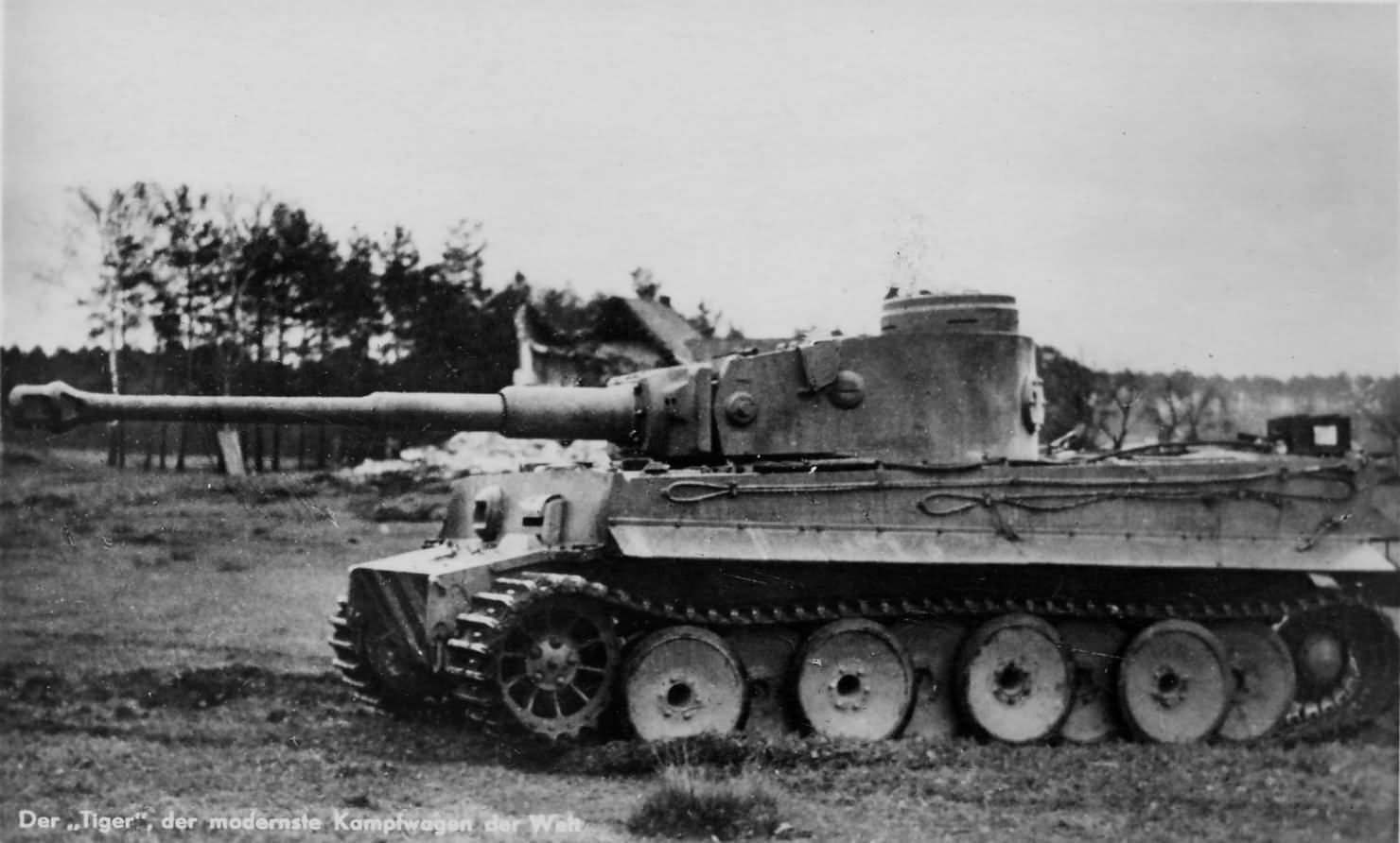 Panzerkampfwagen Tiger Ausf. E (Sd.Kfz. 181)