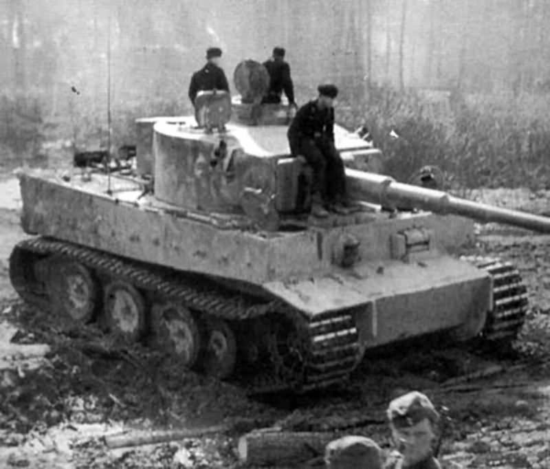 German Tiger I 12