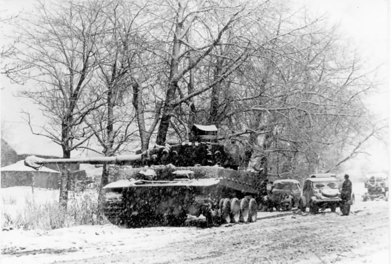 Tiger I tank in Winter – Schwere Panzer-Abteilung 502 1943